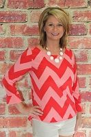 Pink/Red Missoni Woven Top