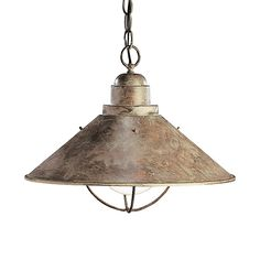 - Overview - Details - Why We Love It - Marine-reminiscent this industrial pendant is fit for a cool, contemporary space. barn lights barn light - Material: Steel Bulb Type: 150W Bulb (G-Type Lamp Req