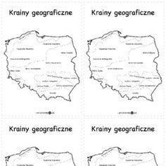 Najnowsze ćwiczenia, zabawy i gry do wydrukowania. - Printoteka.pl Montessori, Education, School, Geography, Onderwijs, Learning