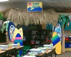"""surf shack"" classroom library"