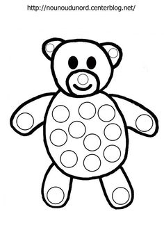 Medvěd Preschool Writing, Preschool Art, Preschool Worksheets, Preschool Spanish, Painting Sheets, Dot Painting, Coloring For Kids, Coloring Books, Coloring Pages