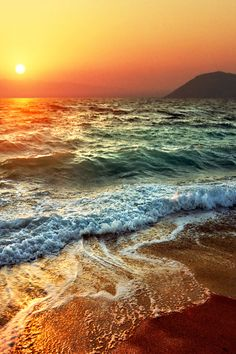 Browse Waves pictures, photos, images, GIFs, and videos on Photobucket No Wave, Beautiful Sunset, Beautiful Beaches, Beautiful World, Beautiful Beautiful, Amazing Sunsets, Beautiful Things, Beautiful Flowers, All Nature