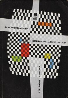 Cover from Gebrauchsgraphik magazine