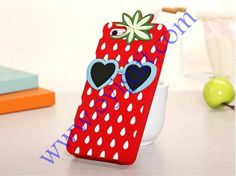 Strawberry Fruit Silicone soft phone Case covers