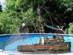 Vintage Curtis Jere Maria Shrimp Boat Brutalist by TheDecoHotel, $425.99