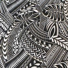 Pacific island pattern.