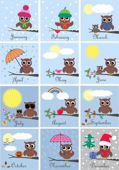 Calendar Royalty Free Cliparts, Vectors, And Stock Illustration. Owl Clip Art, Owl Art, Owl Crafts, Crafts For Kids, Owl Classroom Decor, Classroom Teacher, Kindergarten Classroom, Classroom Ideas, Owl Vector