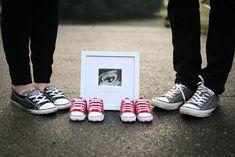 Twins Pregnancy Announcement Photo