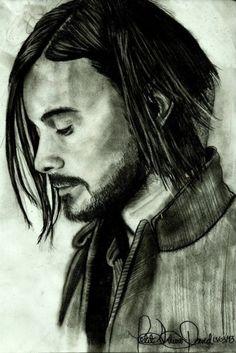 Jared Leto - Retratos | Dibujando.net