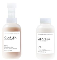 Olaplex is a bond multiplier that links broken disulfide bonds and restores strength, structure, and integrity to hair before/ during/ and after chemical services. Hair is shiner and healthier than ever! It can be used on any hair type. It will leave your hair feeling AMAZING! There is nothing else like it in the market. Tranquilities now offers full olaplex services!