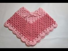Crochet Uncinetto Poncho - YouTube