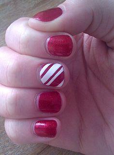 Christmas manicure @Lisa Phillips-Barton Renee
