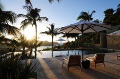 Sunet over Villa Teman, St Barts Rental Villa, St. Jean, St Barts, Premium Island Vacations. www.premiumislandvacations.com