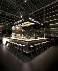 Ristorante LONDRA Canary Wharf - Obikà Mozzarella Bar