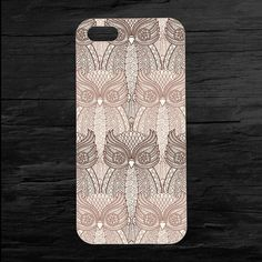 Repeating Owl Pattern iPhone4 and iPhone5 Case by theminifab, $11.00