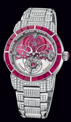 799-88BAG-8F - Royal Ruby Tourbillon - Exceptional - Welcome to the Ulysse Nardin collection - Ulysse Nardin - Le Locle - Suisse - Swiss Mechanical Watch Manufacturer $463,000.00