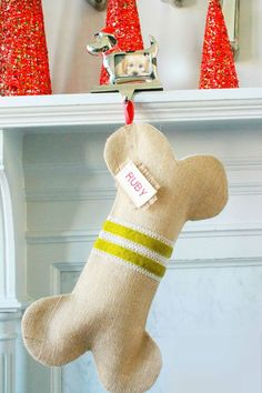 If you have a dog this is an awesome option for their stocking! Too cute!