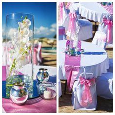 panama city beach wedding reception by princess wedding co