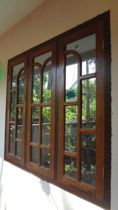Wood windows wood design ideas latest kerala model - Window design for home ...