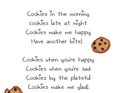 cute cookie quotes | Cookies: A Crummy Little Love Song