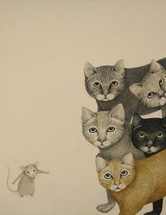 кошки-мышка Lisa Andrea
