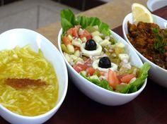 Ensaladas marroquíes. Turista compulsiva: Descubrir los secretos de la cocina marroquí y terminar en un Hamman de las mil y una noches