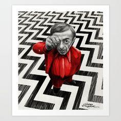 """Giorgio Finamore - Postmodern Gothic Artworks""<br/> <br/> www.giorgiofinamore.com<br/> <br/> Homage to Twin Peaks - Fire walk with me (David Lynch 1992)<br/> <br/> illustration, horror, twin peaks, david lynch..."