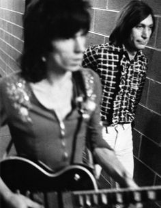 The Rolling Stones, Keith Richards, Charlie Watts
