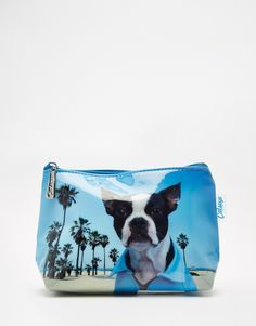Catseye Beach Dog Make up Bag