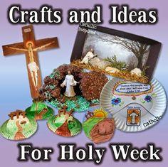 Holy Week Crafts and Ideas - Catholic Inspired
