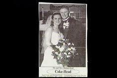 Coke - Head Wedding Name, Wedding Humor, Name Games, Wedding Announcements, My Name Is, Coke, Squirrel, Marriage, Names