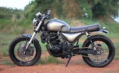You'd never guess that this is an ex Kawasaki Ninja. Ottonero Cafe Racer: The Bluster ZX250