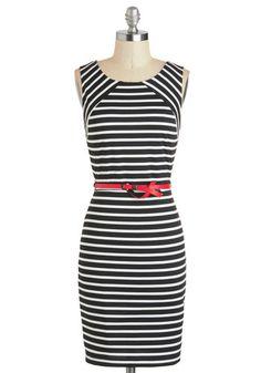 Walk a Divine Line Dress, #ModCloth