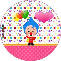 Decoracion de Payaso Plim Plim Kit imprimible nina para descargar gratis | Todo Peques Ideas Para Fiestas, First Birthdays, Carnival, Baby Shower, Halloween, Party, Editable, Salvador, Search