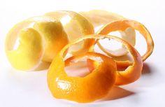 8 usos prácticos para la cáscara de naranja.