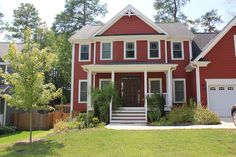 Red Siding House Photos Standard Metal Shake Hartford
