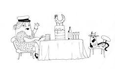 Graduation illustration by Sanni Alanko Graduation, Snoopy, Illustrations, Fictional Characters, Art, Art Background, Illustration, Kunst, Moving On