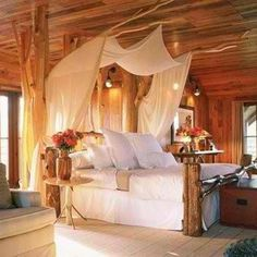 master bedroom in log cabin | About Blog Businesses Developers Privacy & Terms Copyright & Trademark
