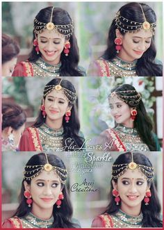so pretty... @shivangijoshi18 Desi Bride, Cute Girl Photo, Girls Dpz, Bridal Photography, Indian Designer Wear, Bridal Lehenga, Beautiful Indian Actress, Bride Hairstyles, Indian Bridal