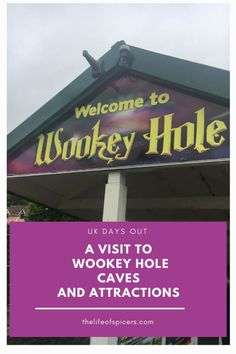 we went to visit Wookey Hole Caves and attractions and had a great day out seeing the Witch of Wookey, the live circus show and sho much more. Days Out For Couples, Family Days Out, Travel With Kids, Family Travel, Kids Attractions, Cave Tours, Devon And Cornwall, Holiday Park, Camping