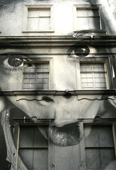 Strong Street Art Faces