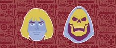 Masters of the Universe - He Man & Skeletor #heman #musclor #skeletor #masteroftheuniverse #pattern #space #lowvector #lowpolygon #lowpolyart #colors #inspiration #illustration #illustrator #portrait #graphicdesign #wip #workinprogress #graphic #design #graphicagency #webagency #lyon #kuki #designer #creative