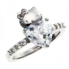 Charmant Anillos De Boda De Hello Kitty 4 (. Hello Kitty WeddingWedding Ring  Designs