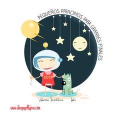 Graphic design, Draw, ilustración, tereskova, niña