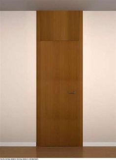 Contramarco para puerta batiente enrasada con la pared - Estructuras para puertas correderas ...