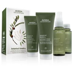 Aveda Botanical Kinetics Earth/Water Skin Care Set, 1 Count For Sale Best Platform Beds With Storage Lotion, Aveda, Oily Skin, Glowing Skin, Cleanser, Packaging Design, Hair Care, Hair Makeup, Gift Sets