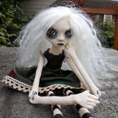 Halloween Doll OOAK, The Ghost of Countess Eleanor Cozette
