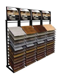 WD650 luxury hardwood flooring, commercial wooden floor tiles rack display