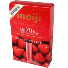 Meiji Chocolate Strawberry Sticks 1.05 oz