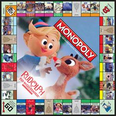 MONOPOLY®: Rudolph the Red-Nosed Reindeer® Collector's Edition | Monopoly | USAopoly